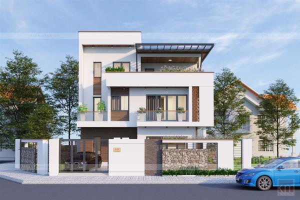 20 mẫu biệt thự phố siêu đẹp, kiến trúc hiện đại