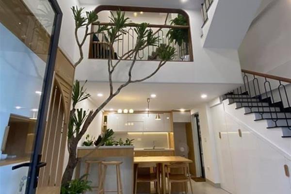 Ngôi nhà chỉ 30m2 nhưng thiết kế đẹp, thông thoáng và đầy đủ công năng