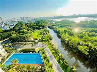 Bán căn góc 2pn thủ thiêm dragon, có 2 ban công, view trực diện công viên, giá bán bao gồm 102%