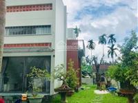 Cần bán nhà 2 mặt tiền thiết kế nhà vườn nhà 2 tấm tại cẩm nam đường lớn 10.5m, dt 230m2 giá covid