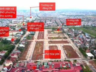Bán đất dự án đã có sổ khu đô thị nam hồng new city, thành phố bắc giang