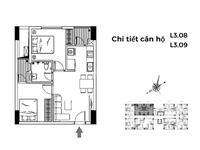 Bán gấp căn 63m2, 2 pn tại chung cư le grand jardin sài đồng, giá 2.1 tỷ,  0911339***