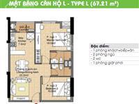 Cần bán gấp căn hộ cc era town đức khải, q7, 1 tỷ 500tr, 67m2, 2pn,  0902339***
